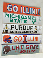 College Vintage 1978  Bumper Sticker Ohio State  University