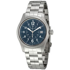 Hamilton Khaki Field Blue Dial Mens Watch H68201143