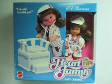 1987 MATTEL HEART FAMILY  JANET & POTTY CHAIR   BABY COUSINS  NIB UNOPENED