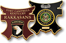 NEW U.S. Army Fort Campbell, KY, Rakkasans Challenge Coin. 61772.