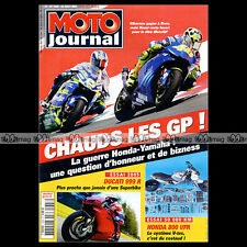 MOTO JOURNAL N°1628 HONDA VFR 800 VTEC DUCATI 999 R MONSTER 600 620 MOTOGP BRNO