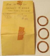 3 Testors McCoy #2966 Gasket for McCoy 29 for Fuel Tank MIP