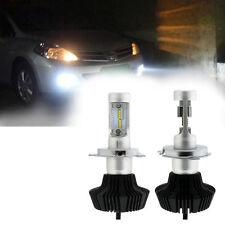 2x LED Chips DC 9-36V 160W 16 LED 16000LM H4 Headlight Kit Beam Bulbs 6000K