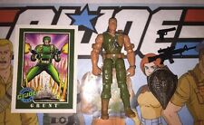 Grunt 2003 Hasbro G.I.Joe Lot W/case, Card, Action Figure & Accessories A