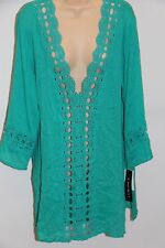 NWT La Blanca swimsuit bikini Cover Up Tunic Dress Sz S LAG