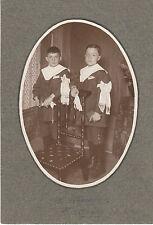 """Photo Ancienne  """"  Photo de Communion avec Brassard - Photo E. Garnier Candé """""""