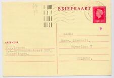 1970s rotterdam black matrix codes plus tard bureau ident 9 (rouge) postal motoculture