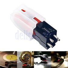 Turntable Phono Ceramic Cartridge W/ Stylus Needle For LP Vinyl Record Player DG