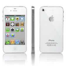 APPLE iPhone 4S 8GB Blanco Smartphone Sim Cierre Gratis LIBRE iOS 7.0.4