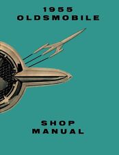 1955 Oldsmobile Shop Service Repair Manual Book Engine Drivetrain Electrical OEM