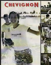 Publicité 1998  CHEVIGNON  vetement chaussure collection mode .......