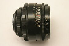 Helios 44-2 58mm F/2.0 Lens. Pentax M42 screw fit