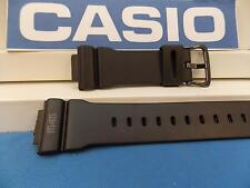 Casio Watch Band DW-5600 MS 1545, RZDW-5600 MS.  G-Shock Black Rubber Strap
