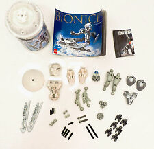 Lego Bionicle 8571 Kopaka Nuva with manual and Canister - 43 Parts Counted