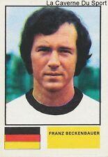 N°353 FRANZ BECKENBAUER # DEUTSCHLAND STICKER AGEDUCATIF FOOTBALL 1977