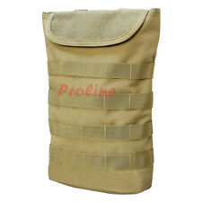 COYOTE Molle Tactical Pals Compact Hydration Carrier Pouch 2 to 2-1/2L Bladder