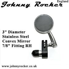 Retro Cafe Racer Mirror RH Universal fit