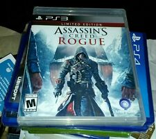 ASSASSINS CREED ROGUE LIMITED EDITION PS3 GAME SONY YFOLD FACTORY SEALED NEW