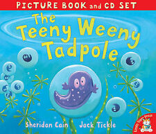 Preschool Story Picture Book & CD - THE TEENY WEENY TADPOLE - NEW