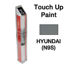 Hyundai OEM Brush&Pen Touch Up Paint Color Code : N9S - Triathlon Gray Metallic