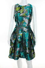 Carmen Marc Valvo Impressionist Dress Dress Size 10 New $595 10185070