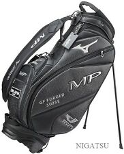 NEW MIZUNO TOUR STYLE 5LJC170200 STAND CADDY BAG BLACK  from JAPAN