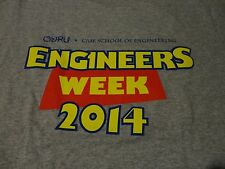 CASE WESTERN RESERVE College Engineer School T Shirt NWOT Medium FREE Shipping