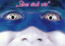 Bleu-le sait, nous sommes + salutations Gelsenkirchen de schalke fans + carte postale +