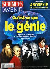 SCIENCES ET AVENIR N°815 JANVIER 2015  QU'EST-CE QUE LE GENIE?/ ANOREXIE/ PHILAE