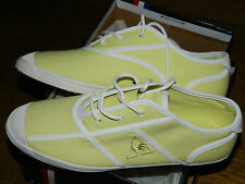 LE COQ SPORTIF lady court citron 912609 taille EUR 39 us 7,5 SIZE UK 6 JP 24,5