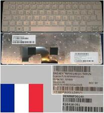 Clavier Azerty Français HP Mini 210-1000 NM6W AENM6F00140 616416-051 Blanc
