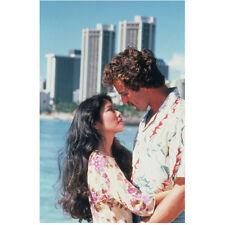 Magnum P.I. Tom Selleck as MagnumwithElissa Dulce Hooai 8 x 10 Inch Photo