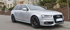 AUDI A4 B8 RS4 S4 S-LINE LOOK SIDE SKIRTS / SIDE BAR NEW