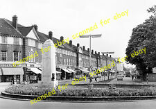 Photo - Street view, war memorial, Orpington High Street, Kent, 1962