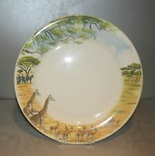 NEW Dinner Plate , Safari From GIEN