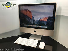 "CHEAP Apple iMac 20"" 7.1 Intel Core 2 DUO 2.0ghz 3gb RAM 250gb HDD OS X 10.11"