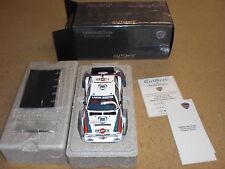 """1:18 Autoart 88620 Lancia Delta S4 """"Martini"""" Tour de Corse #4 1986"""