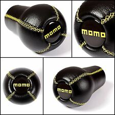 BMW MOMO LEATHER NEW GEAR SHIFT KNOB E39 E46 E60 E90 E92 E91 E39 E46 M3 M5 M6