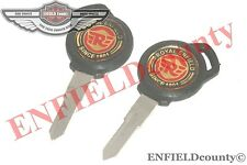 ROYAL ENFIELD RE LOGO RIGHT CUT KEY 2 UNITS ROYAL ENFIELD MOTORCYCLES @CAD
