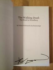 SIGNED The Walking Dead: the Road to Woodbury by Robert Kirkman SC Proof + PHOTO