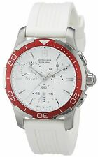 Victorinox Swiss Army Women's 241504 Alliance White Chronograph Dial Watch