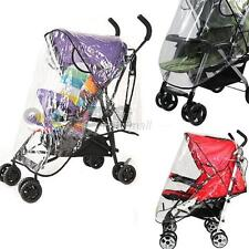 HI-Quality Universal Buggy Pushchair Stroller Pram Transparent Rain Cover Baby