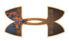 Under Armour Chicago Bears Football Truck/Window Decal Sticker -Set of 3
