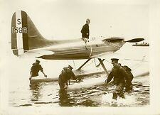 """COUPE SCHNEIDER D'AVIATION 1931 (ORLEBAR)"" Photo originale G. DEVRED (Agce ROL)"