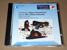 PIERRE BOULEZ/PHILIPPE ENTREMONT/GERSHWIN/RAVEL/THE 2 PIANO CONCERTOS/CD SONY