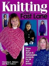 Knitting in the Fast Lane-ExLibrary