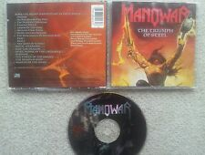 MANOWAR THE TRIUMPH OF STEEL GERMAN COLLECTORS EDITION 8 TRACK CD FIRST PRESS !!
