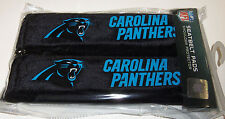 NIP NFL 2 PACK SEAT BELT PADS - CAROLINA PANTHERS