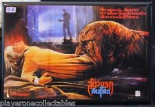 "A Nightmare on Elm Street 3 Foreign Movie Poster - 2"" X 3"" Fridge Magnet."