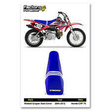 2004-2012 HONDA CRF 70 Troy Lee Designs Adidas SEAT COVER BY Enjoy MFG